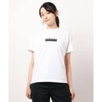 tシャツ Tシャツ Gボックスロゴ消し半袖Tシャツ