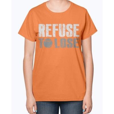 ユニセックス 衣類 トップス Refuse To Lose - Sports- Ladies T-Shirt タンクトップ
