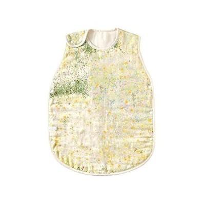 NAOMI ITO ふくふくガーゼ(6重) スリーパー ibuki(キッズサイズ) 18231006 赤ちゃん (黄緑 キッズ)