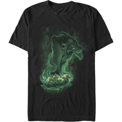 ライオンキング Lion King メンズ Tシャツ トップス Disney The Be Prepared for Trouble Short Sleeve T-Shirt Black