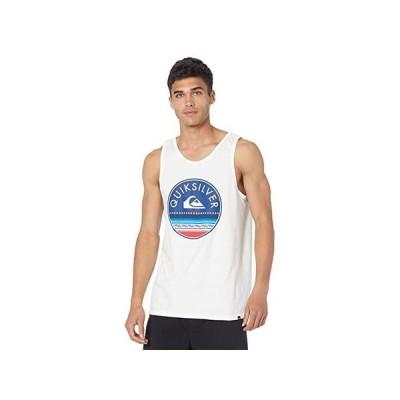 クイックシルバー Sun Giant Tank メンズ シャツ トップス White