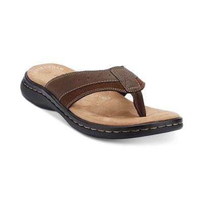 ドッカーズ サンダル シューズ メンズ Men's Laguna Flip-Flop Sandals Briar