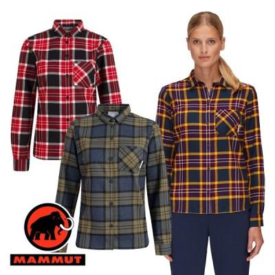 マムート Trovat Longsleeve Shirt Women レディース 長袖 ボタンシャツ 1015-00710