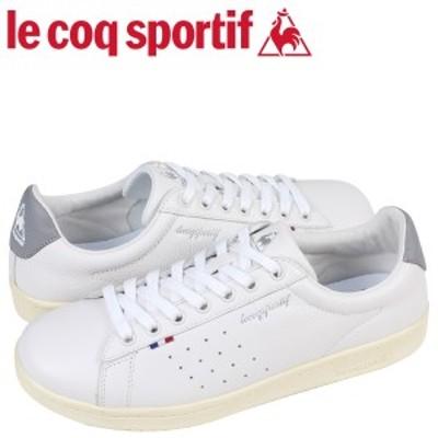ルコック スポルティフ le coq sportif スニーカー メンズ LA ローラン LE + ROLAND ホワイト QL1LJC15WG
