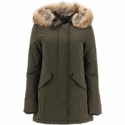 WOOLRICH/ウールリッチ Green Woolrich luxury arctic parka with murmasky fur レディース 秋冬2020 WWOU0296 FRUT0573 ik