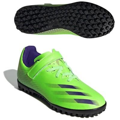 SALE adidas(アディダス) FW9574 サッカー トレーニングシューズ ジュニア X GHOSTED エックスゴースト.4 ベルクロ TF J 20Q4