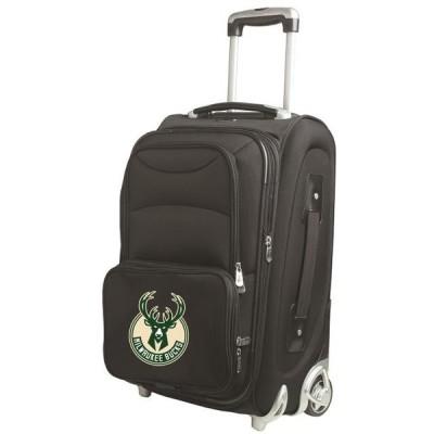 ユニセックス スポーツリーグ バスケットボール Milwaukee Bucks 21 Rolling Carry-On Suitcase アクセサリー