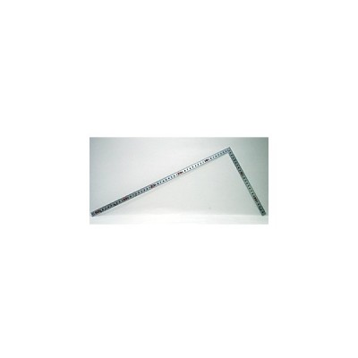 シンワ測定  曲尺平ぴたシルバー50cm/1尺5寸 併用目盛 10044