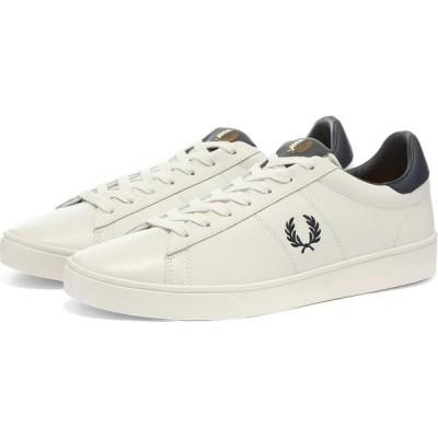 フレッドペリー Fred Perry Authentic メンズ スニーカー シューズ・靴 Spencer Leather Sneaker White/Navy