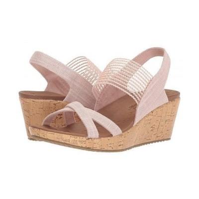 SKECHERS スケッチャーズ レディース 女性用 シューズ 靴 ヒール Beverlee - High Tea - Pink