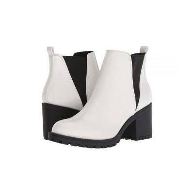 Dirty Laundry ダーティーランドリー レディース 女性用 シューズ 靴 ブーツ チェルシーブーツ アンクル Lisbon - White Patent