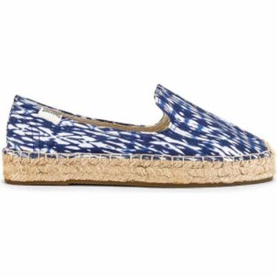 ソルドス Soludos レディース エスパドリーユ シューズ・靴 Shibori Platform Espadrille Blue