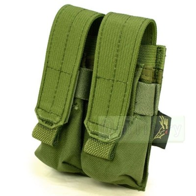 FLYYE MOLLE Double 9mm Mag Pouch Ver.FE OD