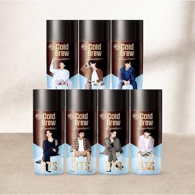 【ランダム発送】 BTS Cold Brew Americano 8pcs