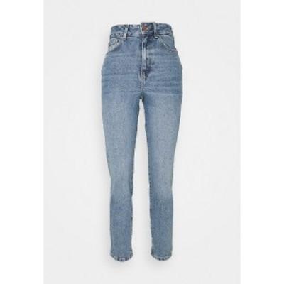 ニュールック レディース デニムパンツ ボトムス WAIST ENHANCE MOM JEAN HARRY - Relaxed fit jeans - mid blue mid blue