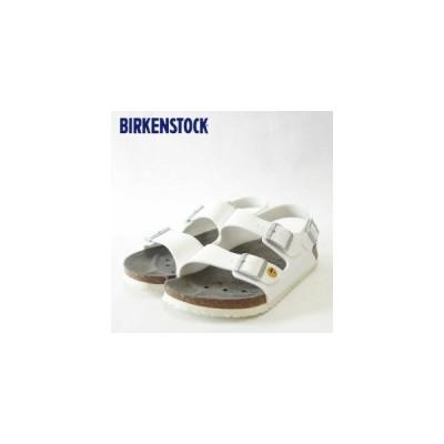 シューズ ファッション サンダル BIRKENSTOCK ビルケンシュトック ホワイト プロフェッショナル ミラノ ESD(帯電消散機能付き) (レディース) お取り寄せ商品