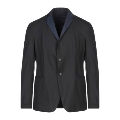 エンポリオ アルマーニ EMPORIO ARMANI テーラードジャケット ブラック 56 ポリエステル 67% / レーヨン 29% / ポリウレ