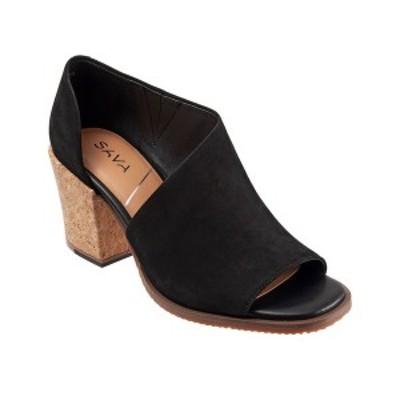セーブ レディース サンダル シューズ Women's Bentley D'Orsay Dress Sandal Black Nubuck