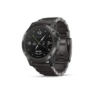 全国送料無料!Garmin D2 Delta PX, GPS Pilot Watch with Pulse Ox Sensor, Includes Smartwatch Features, Heart Rate and Music, Titanium
