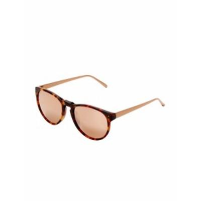 リンダファローラックス レディース サングラス 52MM Cat-Eye Sunglasses