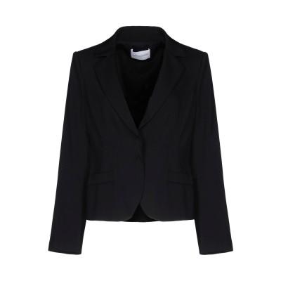 MARIA GRAZIA SEVERI テーラードジャケット ブラック 40 アセテート 61% / レーヨン 34% / ポリウレタン 5% テー