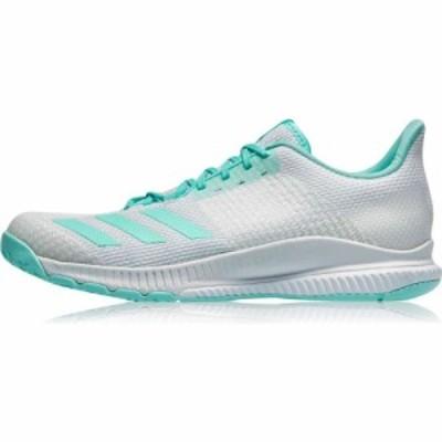 アディダス adidas レディース スニーカー シューズ・靴 Crazyflight Netball Trainers White