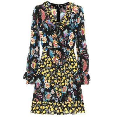 エトロ Etro レディース ワンピース ワンピース・ドレス Ruffle-trimmed floral silk dress