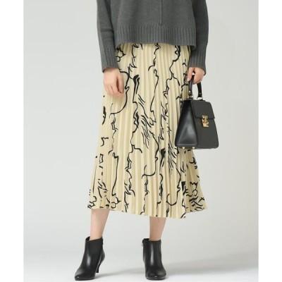 MAYSON GREY / メイソングレイ 【WEB別注】【socolla】手書き風プリーツスカート