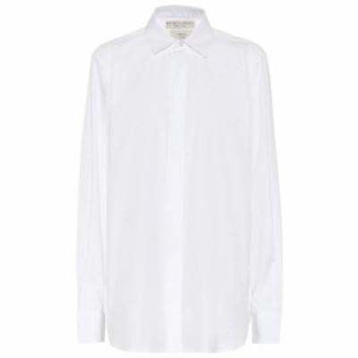 ボッテガ ヴェネタ Bottega Veneta レディース ブラウス・シャツ トップス cotton shirt Bianco