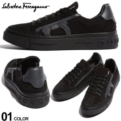 サルバトーレフェラガモ Salvatore Ferragamo スニーカー スエード ガンチーニ ローカット ブランド メンズ 靴 シューズ スウェード レザー FG713383F9