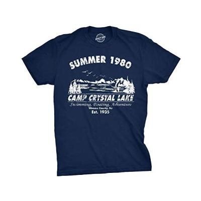 海外より出荷【並行輸入品】キャンプクリスタルレイクサマー1980 Tシャツビンテージ映画Tシャツ - M
