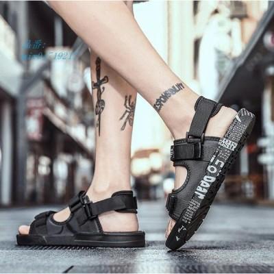 サンダル カジュアルシューズ 靴 夏サンダル かっこいい歩きやすい 痛くない 2020夏新作 ビーチサンダル メンズ メンズ 大きいサイズ