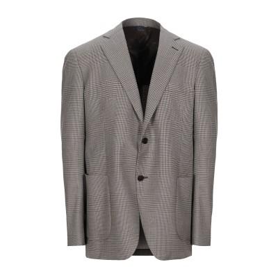 TOMBOLINI テーラードジャケット ドーブグレー 56 ウール 100% テーラードジャケット