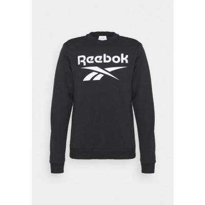 リーボック メンズ スポーツ用品 CREW - Sweatshirt - black