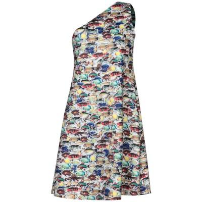 ANIMAPOP ミニワンピース&ドレス ホワイト L ポリエステル 95% / ポリウレタン 5% ミニワンピース&ドレス