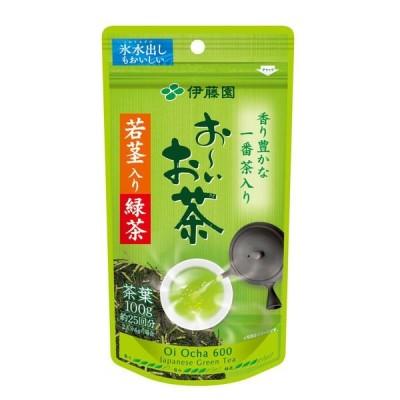 水出し可 伊藤園 おーいお茶 若芽・若茎入り緑茶 1袋(100g)
