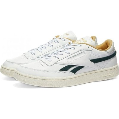 リーボック Reebok メンズ スニーカー シューズ・靴 club c revenge White/Gold/Forest Green