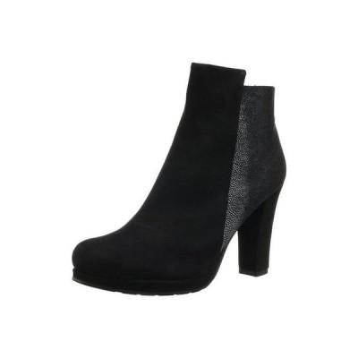 ブーツ シューズ 靴 海外セレクション Sacha London 3081 レディース Flavia ブラック アンクルブーツ シューズ 10 ミディアム (B,M)