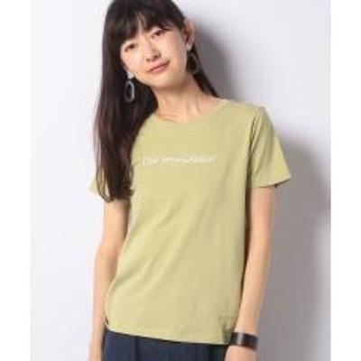 E hyphen galleryフロントロゴTシャツ