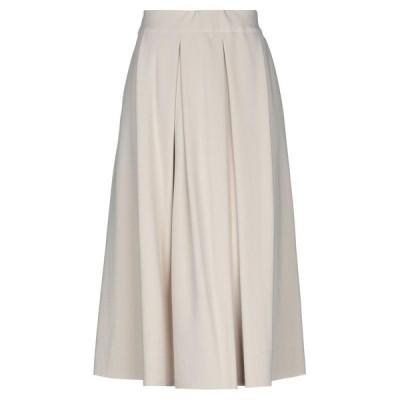 SHIKUMEN 七分丈スカート  レディースファッション  ボトムス  スカート  ロング、マキシ丈スカート アイボリー