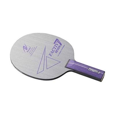 ニッタク(Nittaku) 卓球 ラケットファクティブ7 シェークハンド 攻撃用 7枚合板 ストレート NE6186