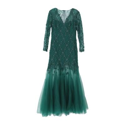 TADASHI SHOJI ロングワンピース&ドレス ダークグリーン 10 ポリエステル 80% / ナイロン 20% ロングワンピース&ドレス