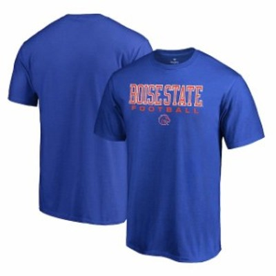 Fanatics Branded ファナティクス ブランド スポーツ用品  Fanatics Branded Boise State Broncos Royal True Sport Football T-Shirt