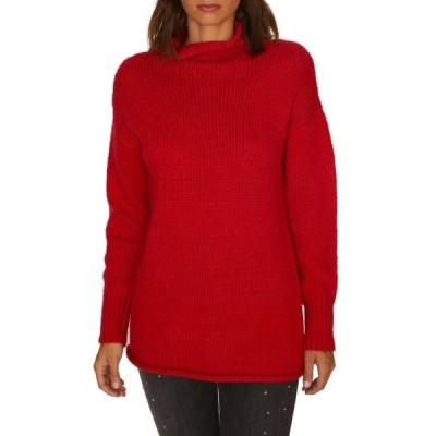 レディース 衣類 トップス Womens Sweater Medium Turtleneck Ribbed Cuffs M ブラウス&シャツ