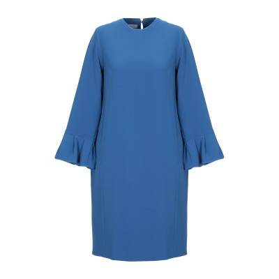 ROSSO35 ミニワンピース&ドレス ブルー 42 トリアセテート 71% / ポリエステル 29% ミニワンピース&ドレス