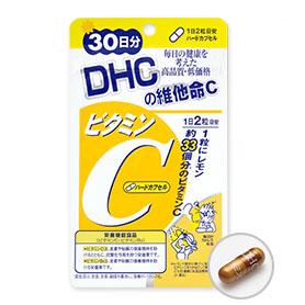 DHC維他命C(30日份)