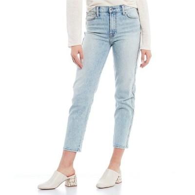 7フォーオールマンカインド レディース デニムパンツ ボトムス High Waist Scalloped Side Seam Straight Leg Jeans Aspen