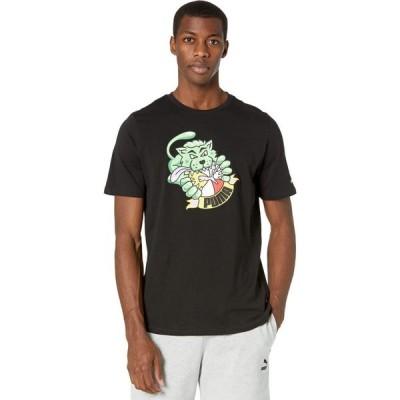 プーマ PUMA メンズ Tシャツ トップス Graphic Tee Summer Streetwear PUMA Black