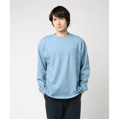 tシャツ Tシャツ 【Goodwear/グッドウェア】U.S.A.コットン/袖リブ ポケット付き ロンTEE