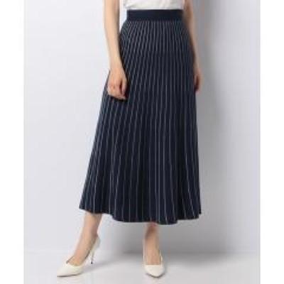 en recre(アン レクレ)ストライプニットスカート